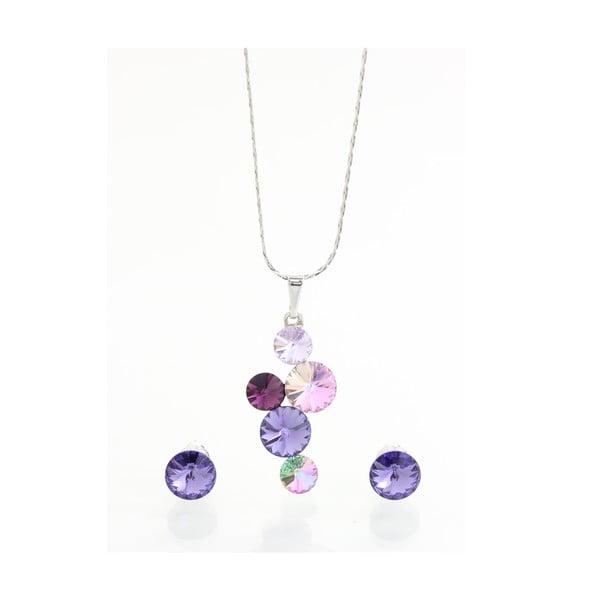 Set náhrdelníka a náušnic so Swarovski Elements Laura Bruni Fjollum