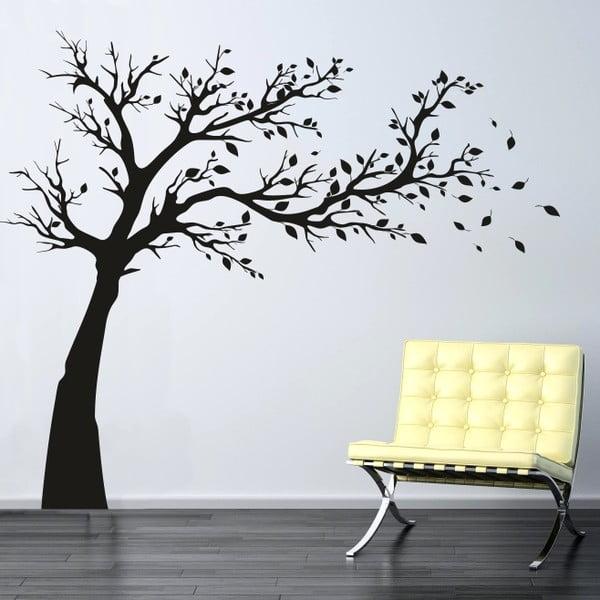 Samolepka na stenu Strom s lístkami, pravá strana
