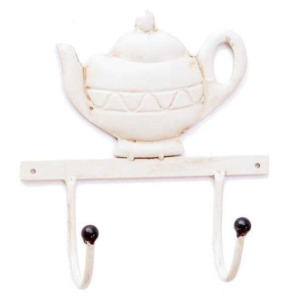 Nástenný vešiak Bolzonella White Teapot