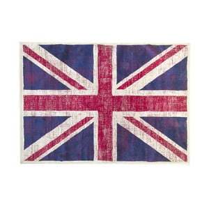 Koberec s motívom anglickej vlajky Cotex, 160 × 230 cm