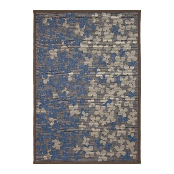 Koberec NW Brown/Blue, 80x150 cm