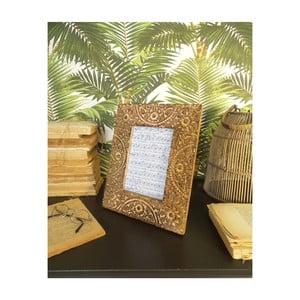 Sada 2 rámčekov z mangového dreva Orchidea Milano Mandala, výška 26 cm