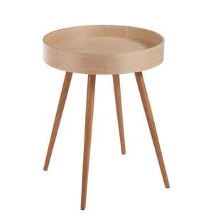 Príručný stolík J-Line Wood Nat