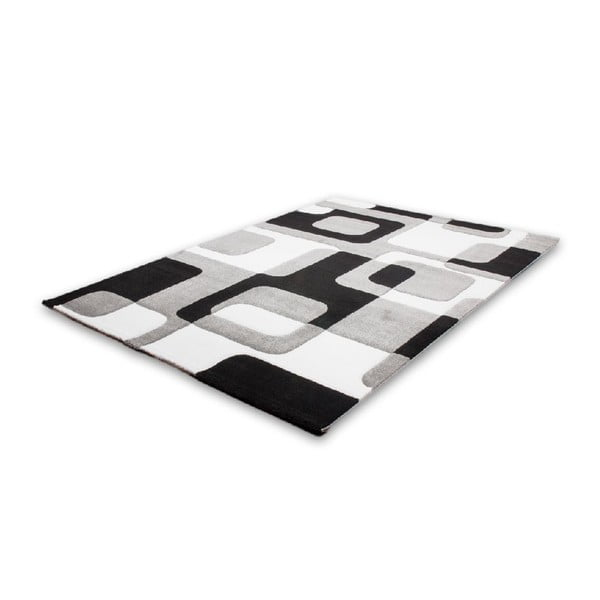 Koberec Melusine 441 Black, 80x300 cm