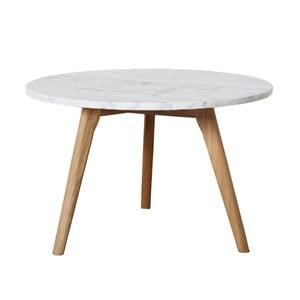 Konferenčný stolík FIORD Marble, 40x40 cm