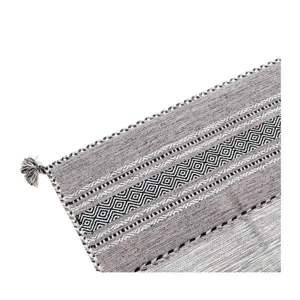 Ručne tkaný koberec Kilim Tribal 108, 90x60 cm