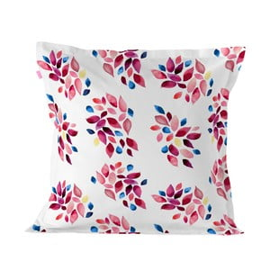Bavlnená obliečka na vankúš Happy Friday Cushion Cover Festive Leafes, 60 × 60 cm