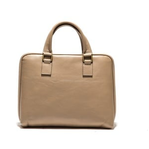 Kožená taška na notebook Anna Luchini 2120 Fango
