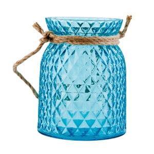 Modrý lampáš Clayre & Eef Countryside
