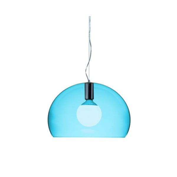 Menšie modré stropné svietidloKartellFly