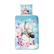 Detské obliečky na jednolôžko z čistej bavlny Good Morning My Beauty, 140 × 200 cm