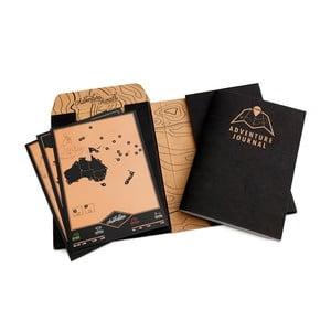 Sada pre cestovateľov Adventure Journal