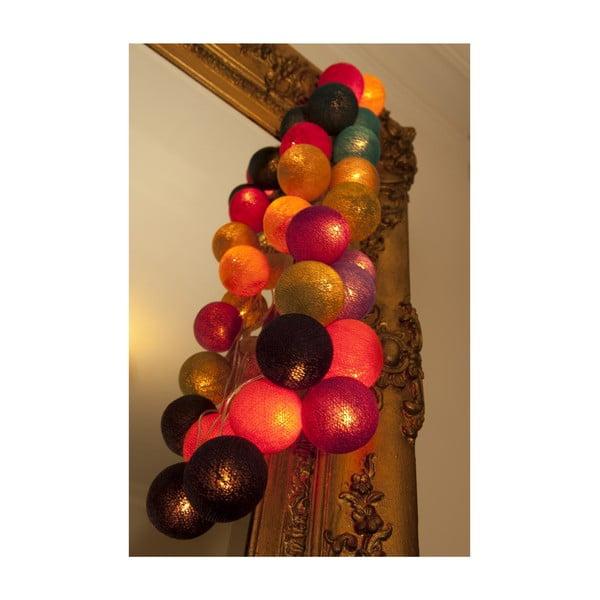 Svetelná reťaz Mexican, 35 ks svetielok