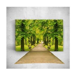 Nástenný 3D obraz Mosticx Park Road, 40×60 cm