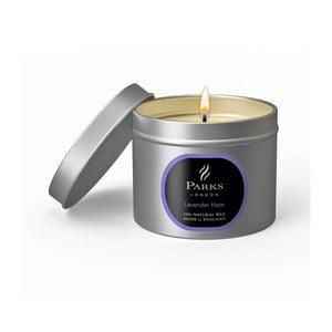 Sviečka s vôňou levandule Parks Candles London Haze, 25 hodín horenia