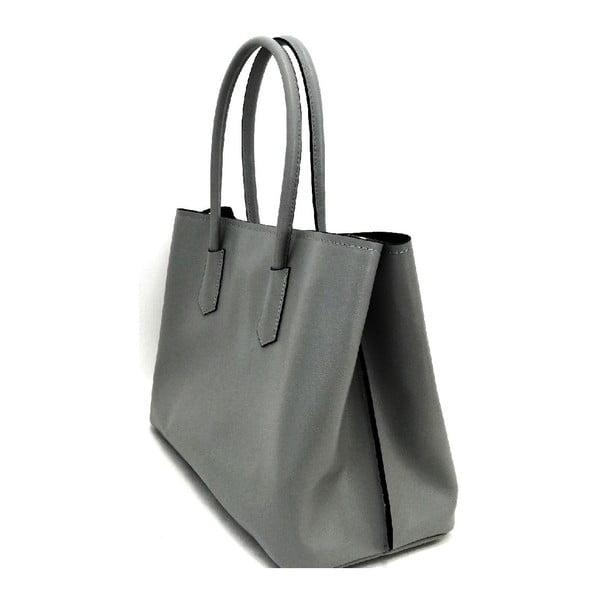 Kožená kabelka Gaia Grey