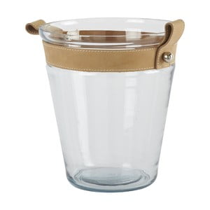 Chladič na šampanské Athezza Bucket Glass Leather