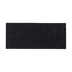 Čierno-sivá rohožka Tica Copenhagen Footwear, 67 x 150 cm