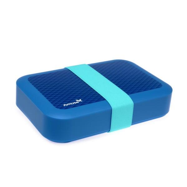 Desiatový box Amuse, modrý