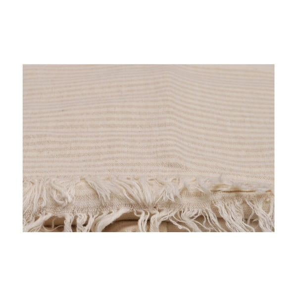 Béžový uterák, 170 x 90 cm
