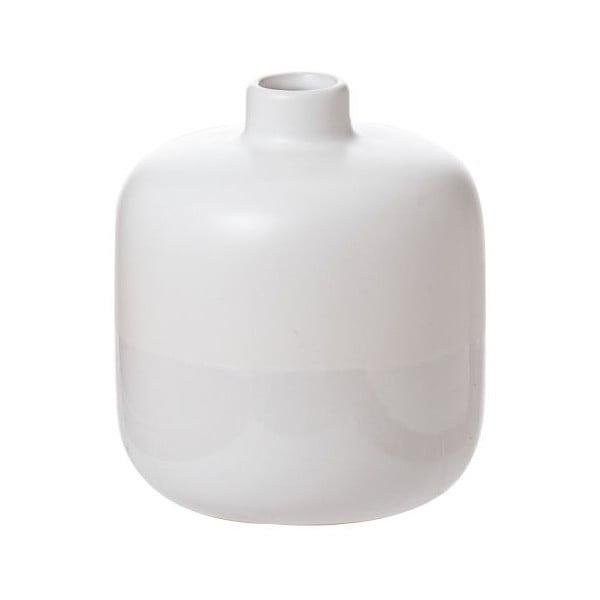 Váza Shade Dip White, 13x13x14,5 cm