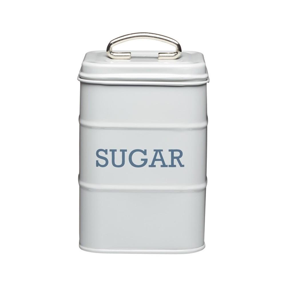Sivá plechová dóza na cukor Kitchen Craft Nostalgia