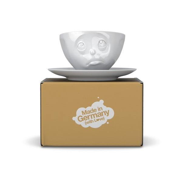 Biely hrnček na kávu 58products Oh please