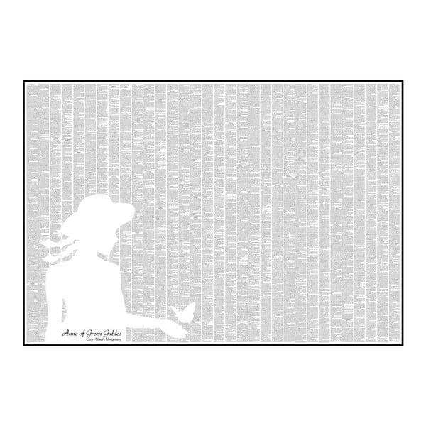 Knižný plagát Anna zo Zeleného domu, 100x70 cm