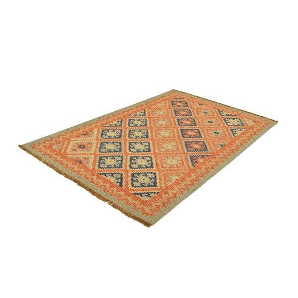 Vlnený koberec Kilim 96, 120x180 cm