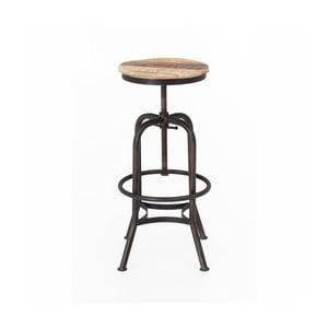 Barová stolička s kovovou konštrukciou WOOX LIVING Industrial