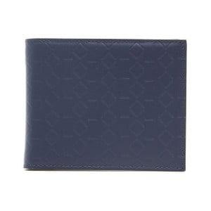 Tmavomodrá kožená pánska peňaženka Alviero Martini Navy Duro
