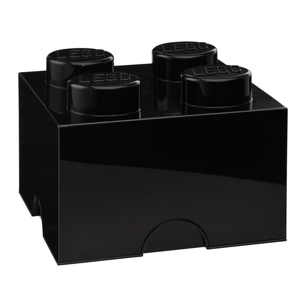 Čierny úložný box LEGO®