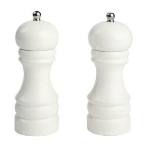 Biely mlynček na soľ T&G Woodware Capstan