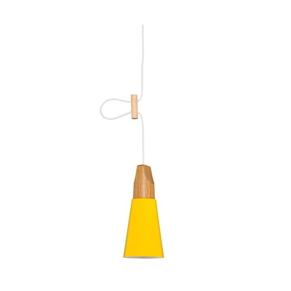 Žlté stropné svietidlo Homemania Tomas