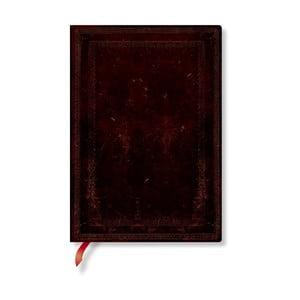 Zápisník s mäkkou väzbou Paperblanks Morrocan Bold, 13 x 18 cm