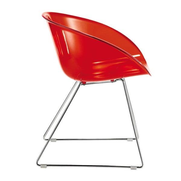Stolička Gliss 921, červená
