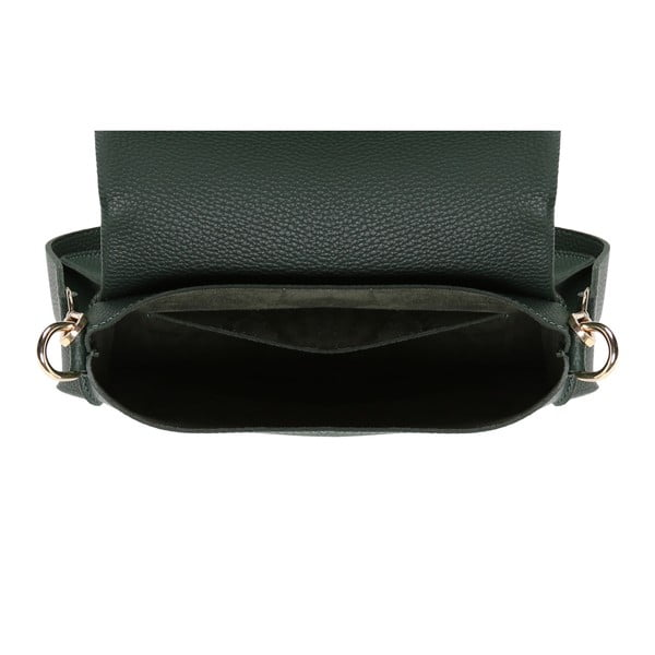 Zelená kabelka z eko kože Beverly Hills Polo Club Janis