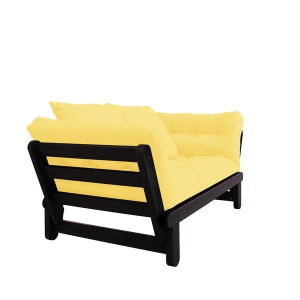 Rozkladacia pohovka Karup Design Beat Black/Yellow