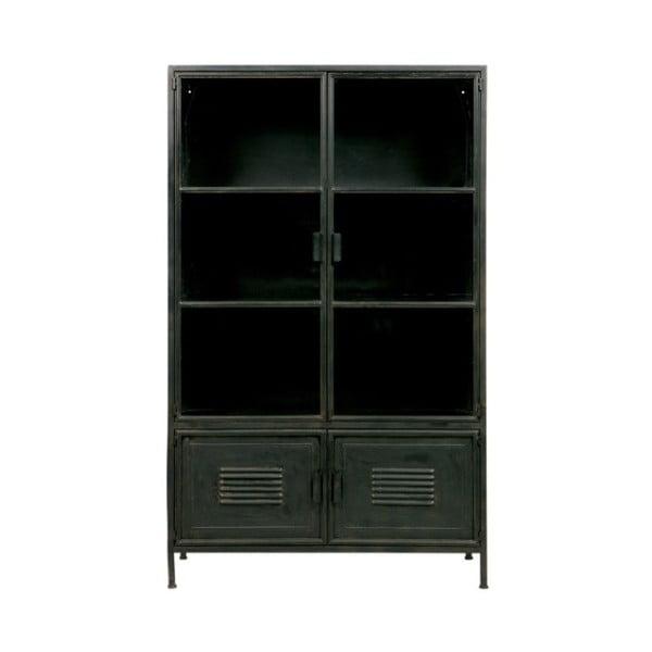 Čierna komoda so 4 zásuvkami De Eekhoorn Dennis