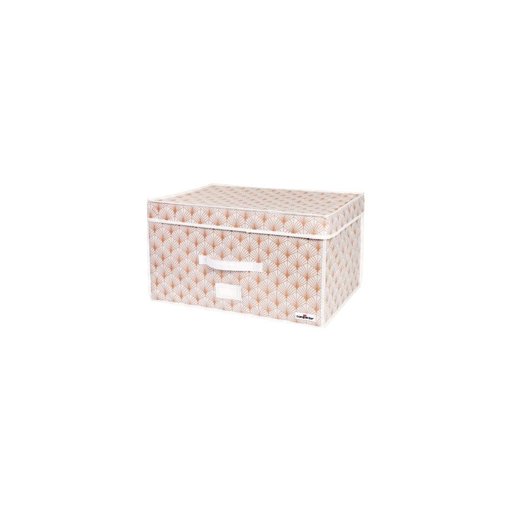 Ružový vakuový úložný box na oblečenie Compactor Signature Blush 3D Vacuum Bag, 150 l