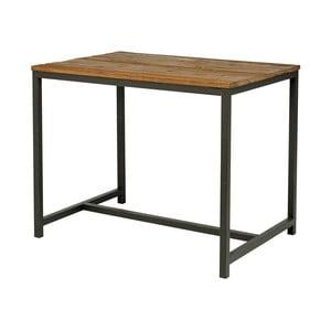 Barový stolík s doskou z brestového dreva Interstil Vintage