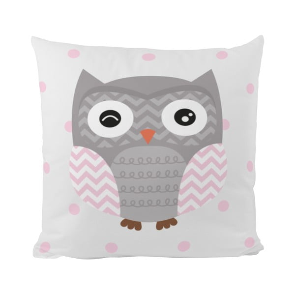Vankúš Striped Owl, 50x50 cm