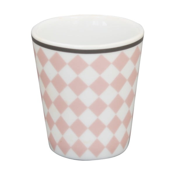 Miska na vajíčko Krasilnikoff Pink Harlekin