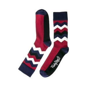 Farebné ponožky Funky Steps Wave, veľkosť 39 - 45