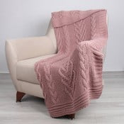 Ružová deka Tuti, 170×130 cm