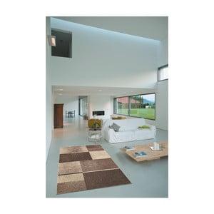Koberec Webtappeti Intarsio Brown, 140x200cm
