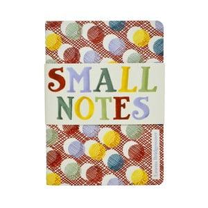 Sada dvoch zápisníkov Small Notes A6