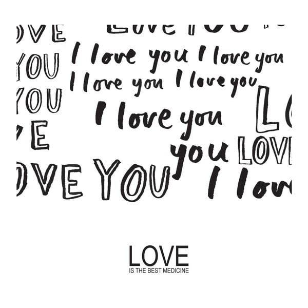 Plagát Love Medicine, 30x40 cm