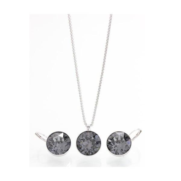 Set náhrdelníka a náušnic se Swarovski Elements Laura Bruni Kymijoki
