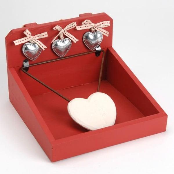 Stojan na servítky Coeur Heart Passion